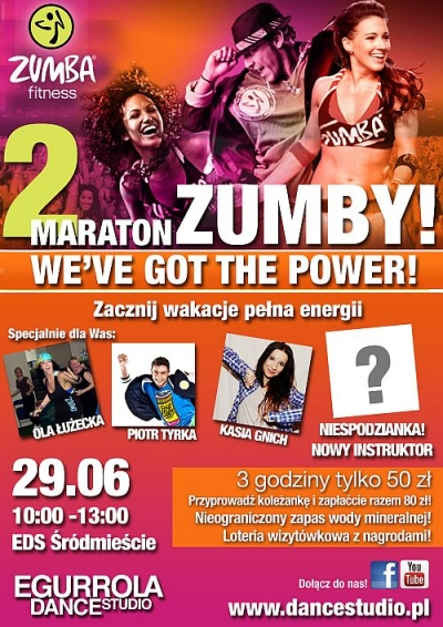 WARSZAWA - II Maraton Zumby - We've got the power
