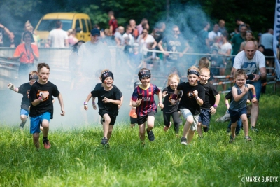 Survival Race Kids w Parku Starego Browaru