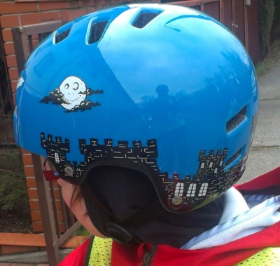 Kask TSG Gravity Graphic Spooky Castle